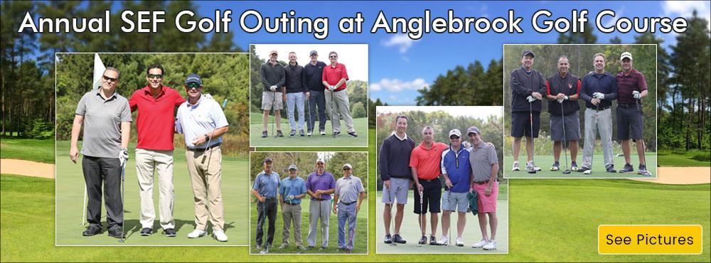 SEF Golf Banner